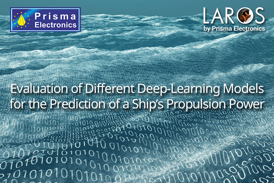 Evaluation of Different Deep-Learning Models for the Prediction of a Ship's Propulsion Power